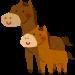 【競馬】子供と一緒に飼葉を食べるメイショウマンボが可愛すぎる件